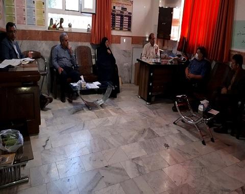 برگزاری جلسه انجمن اولیاء و مربیان  در مورد امتحانات نوبت دوم
